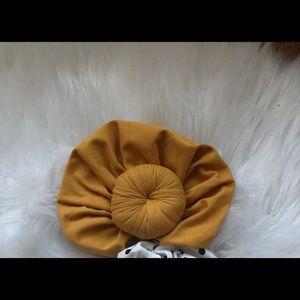 Mustard Turban 6-12m